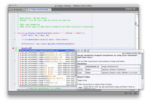 netbeans ide in action